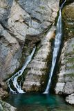 Waterfall Savica, Slovenia Royalty Free Stock Photos