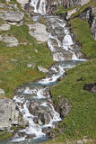 Waterfall in Savoie Stock Photography