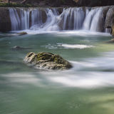 Waterfall scene Royalty Free Stock Images