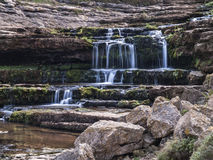 Waterfall scene Stock Photos