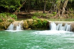 Waterfall Scene of Thailand Stock Image