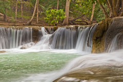 Waterfall Scene of Thailand Stock Images