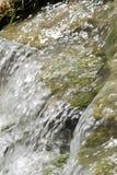 Waterfall scene in white water Stock Image