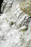 Waterfall scene in white water Stock Image
