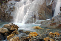 Waterfall Scenery. Taken on a trip in the austrian alps Stock Image