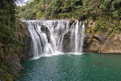 Waterfall scenery Stock Photography