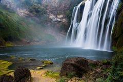 Waterfall scenery Royalty Free Stock Photo