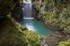 Waterfall scenery Stock Photos