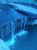 Waterfall scenery stock photo