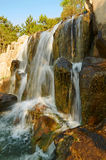 The waterfall scenery xian Royalty Free Stock Photos