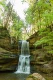 Waterfall in scheidegg Stock Image