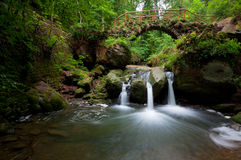 Waterfall Schiessentümpel Stock Image
