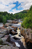 Waterfall in Scotland. This picture shows one of the many waterfalls in Scotland Stock Photo