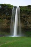 Waterfall Seljalandsfoss Stock Photo