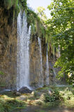 Waterfall in shade Stock Photos