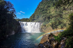 Waterfall in shifen taiwan Royalty Free Stock Photos