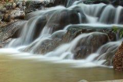 Waterfall shot at long exposure Stock Photo
