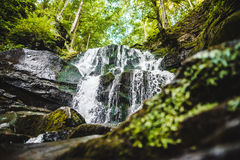 Waterfall Shypit in the Ukraine Stock Photography