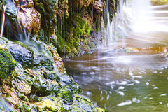 Waterfall, Sicily Royalty Free Stock Photography