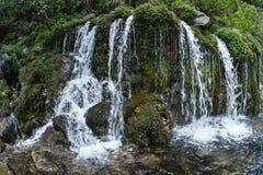 Waterfall, Sierra Nevada Range Stock Image
