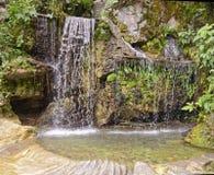 Waterfall, san martin, peru. Royalty Free Stock Photo