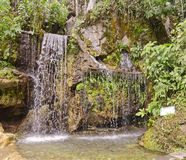 Waterfall, san martin, peru. Royalty Free Stock Image