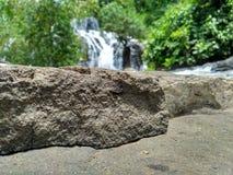 Waterfall sindaro. In wadasmalang village, Kebumen district. cool indonesia Stock Photo