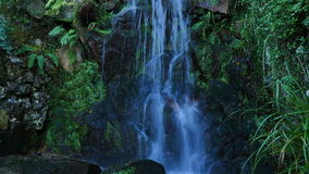 Waterfall in Sintra, Portugal stock footage