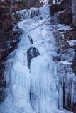 Waterfall Skalovitets, Bulgaria Stock Image
