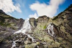Waterfall. Skok in High Tatras, Slovakia, Europe Stock Image