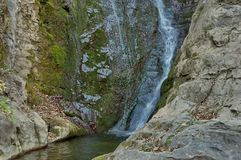 Waterfall Skoka (The jump) in Central Balkan Stock Image