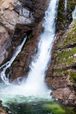 Waterfall Slap Savica, Bohinjsko jezero, Slovenia Stock Photo