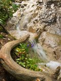 Waterfall in Slovak Paradise Stock Image