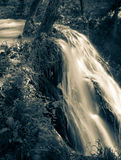 Waterfall, Slovakia Royalty Free Stock Image