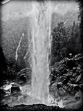 WATERFALL IN SLOVENIA Royalty Free Stock Photography