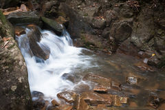 Waterfall. Slow shutter waterfall in Thailand stock images