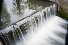 Waterfall. Small waterfall in the flemish ardennes Royalty Free Stock Photos