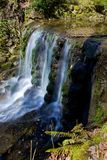 Waterfall. Small waterfall with milky water effect Royalty Free Stock Photography