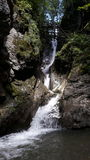 Waterfall. A small waterfall in the mountains of austria Stock Photo