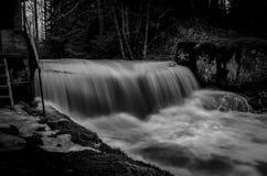 Waterfall. Small waterfall at Myllypuro, Finland Stock Photos