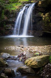 Waterfall - Small Waterfall - North Yorkshire - UK Royalty Free Stock Photography