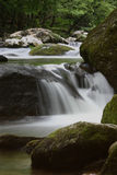 Waterfall in Smokey Mountains Royalty Free Stock Photo