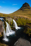Waterfall, Snæfellsnes Peninsula, Western Iceland Stock Images