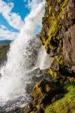 Waterfall, Snæfellsnes Peninsula, Western Iceland Royalty Free Stock Image