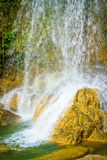 Waterfall in Soroa,Cuba. Beautiful waterfall in the cuban natural landmark of Soroa Stock Photography