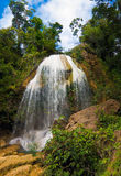 Waterfall in Soroa,Cuba Royalty Free Stock Photos