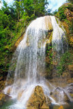 Waterfall in Soroa,a famous cuban landmar. Waterfall in Soroa, a famous cuban natural landmark Stock Photo