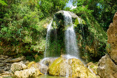 Waterfall at Soroa in western Cuba. Waterfall at Soroa, a famous natural landmark in Cuba Stock Image
