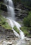 Waterfall of Sorrosal in Broto. Royalty Free Stock Photos
