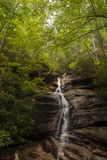 Waterfall in South Carolina. Waterfall in the Appalacian Mountains of South Carolina stock image